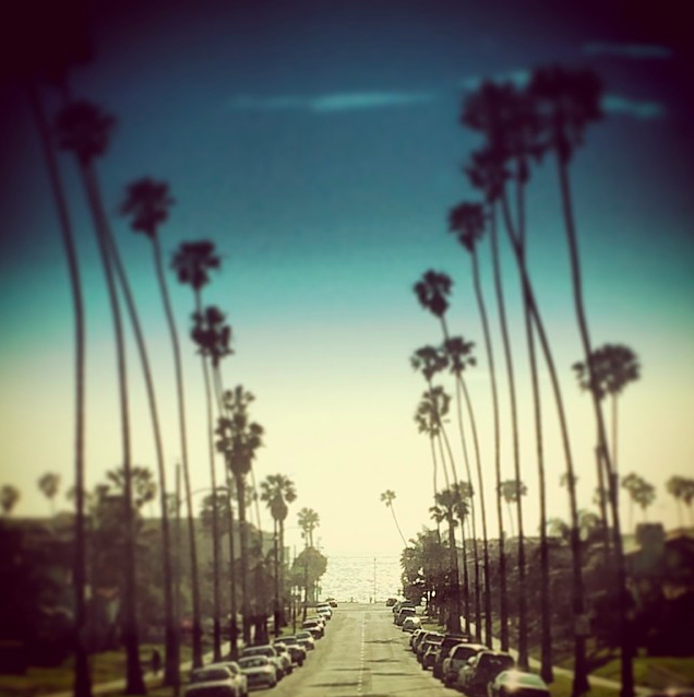 Leaving White House Pilates in Redondo Beach